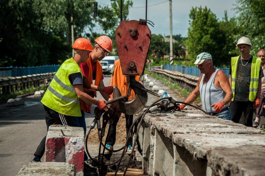 На Полтавщині відновили зруйнований міст через Сулу