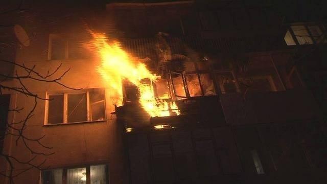 У Полтаві з палаючого будинку евакуювали 12 людей
