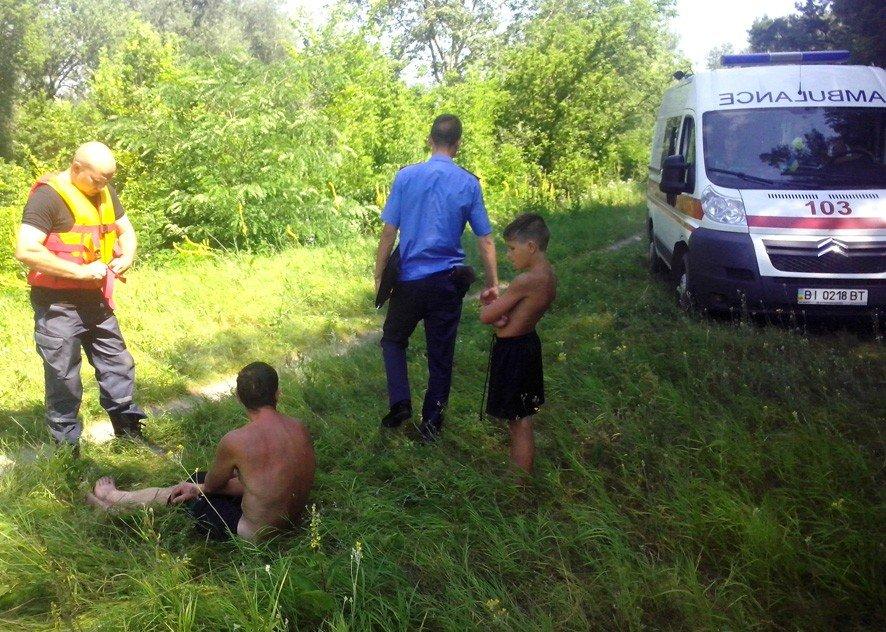На Полтавщині тонув чоловік