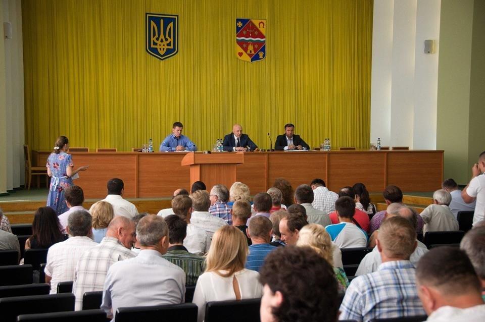 Щоб вирішувати свої проблеми, фермери створять Координаційну раду в Полтавській ОДА
