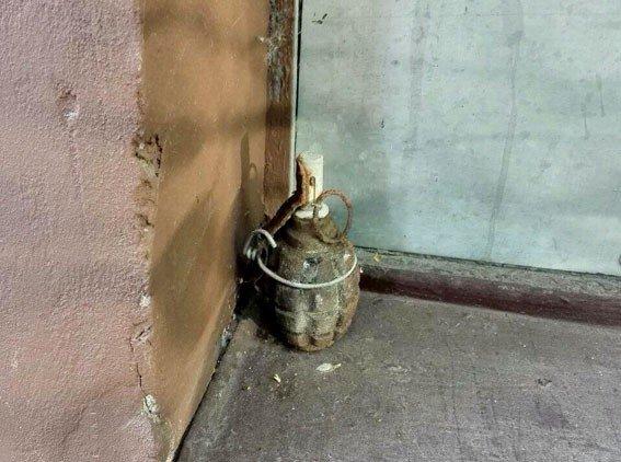 Біля офісу по вулиці Кукоби в Полтаві знайшли гранату