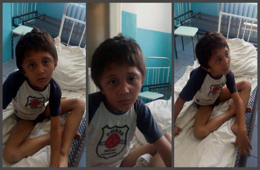 У Кременчуці знайшли 6-річного хлопчика, який не вміє ходити, говорити і їсть квіти
