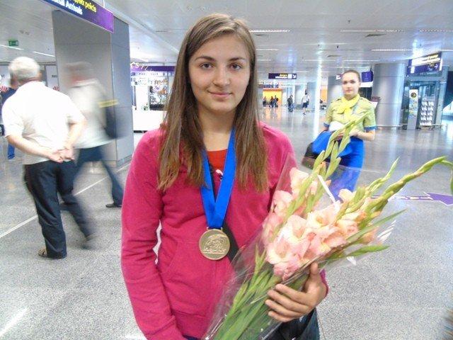 Дівчина із Глобиного стала чемпіонкою Європи