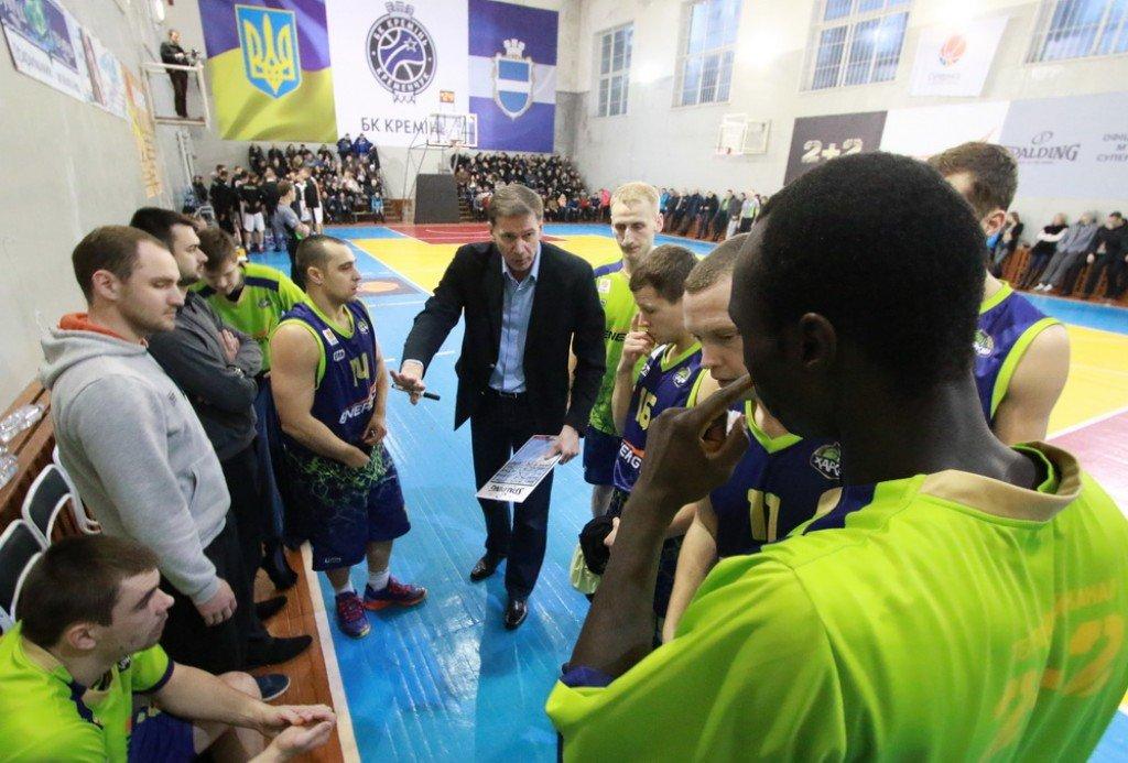 Баскетбольний «Кремінь» візьме участь у Суперлізі та змінив тренера