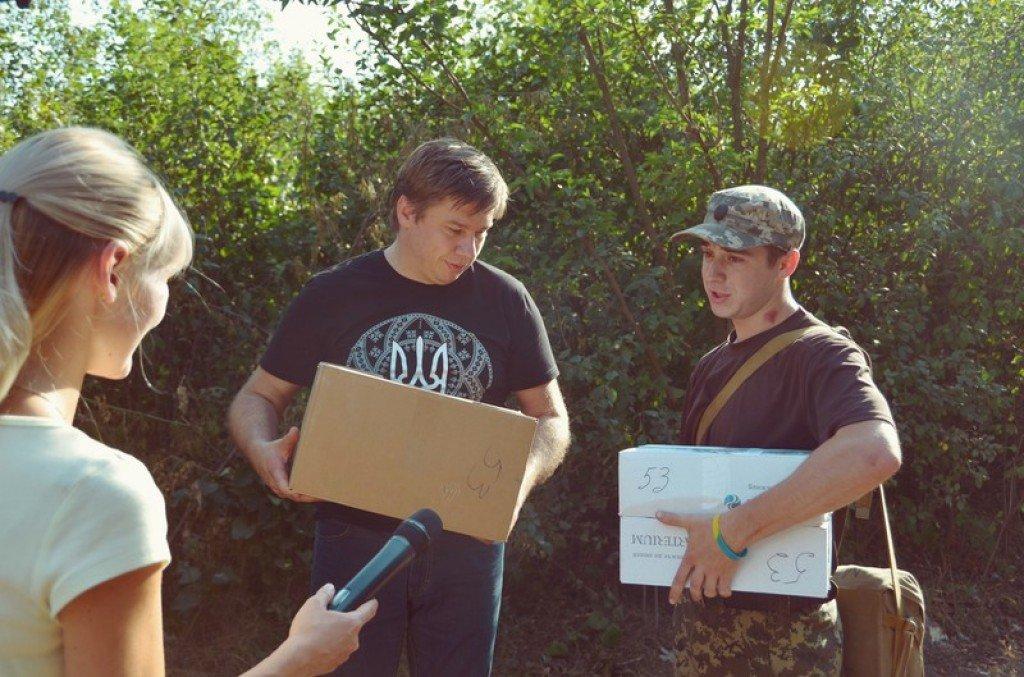 Полтавців, які боронять Україну нагородили у зоні АТО