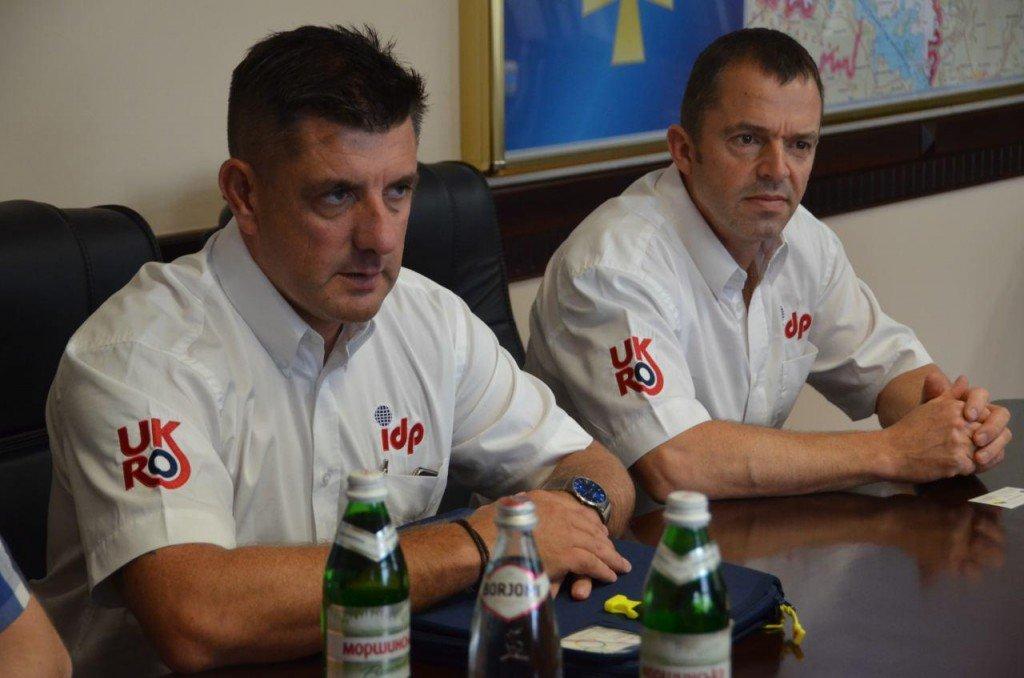 Полтавських рятувальників навчатимуть пожежники-волонтери із Великої Британії