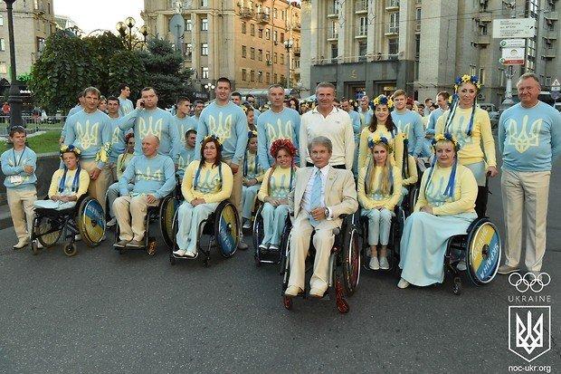 13 полтавців поїхали на Паралімпійські ігри в Ріо