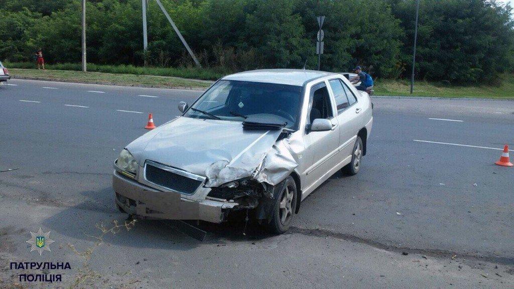 У Полтаві нетверезий водій влаштував ДТП