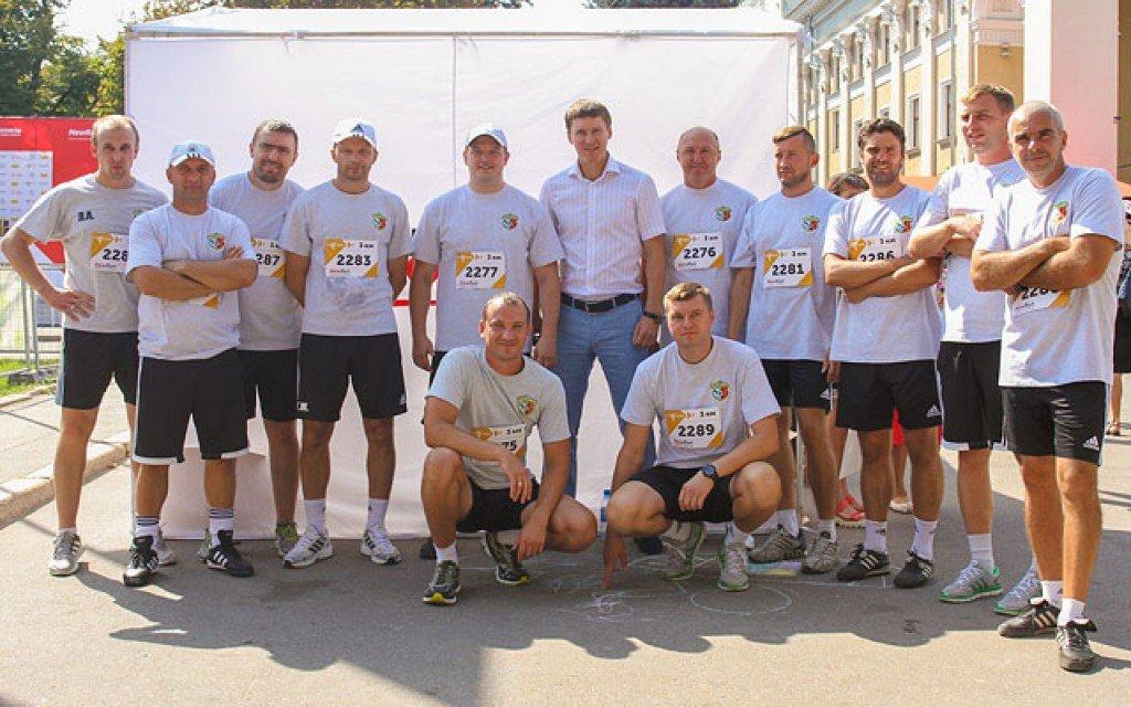 Віце-президент, тренери та персонал «Ворскли» взяли участь в напівмарафоні