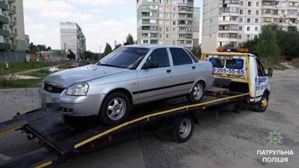Полтавський водій-такист-наркоман влаштував шоу для поліцейських (відео)