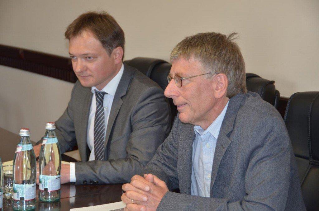 Німецькі експерти розроблять концепт сучасної пожежної частини для Полтавщини