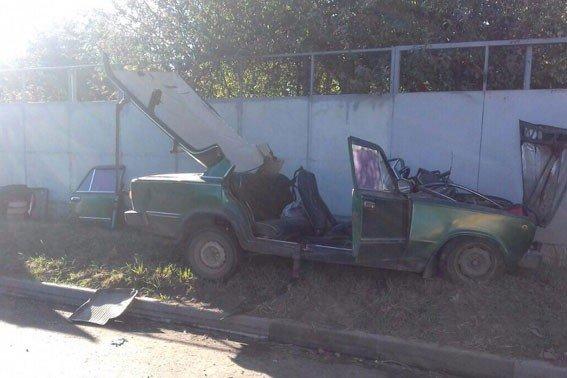 У Полтаві внаслідок ДТП постраждали дві людини