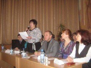 Засідання колегії управління освіти в Полтаві. Фото Юлії Корж