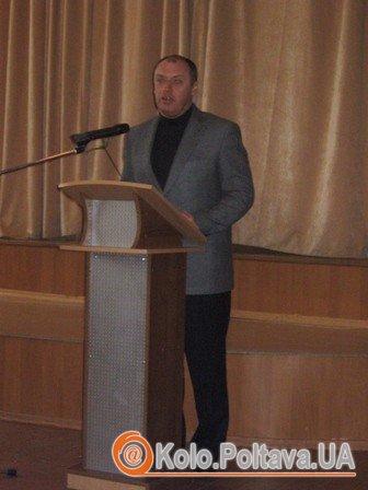 Олександр Мамай, міський голова Полтави. Фото Юлії Корж