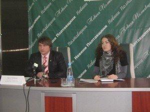 Павло Горінов та Наталія Удовіченко. Фото Юлії Корж