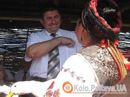 Вместо гуся губернатору подсунули утку Фото: kp.ua
