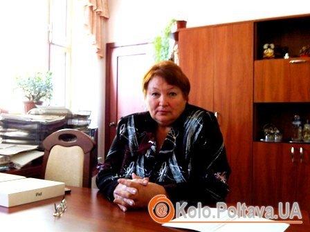 Директор обласної бібліотеки Тетяна Зеленська