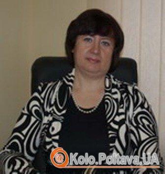 Світлана Порохня. Фото з сайту rada-poltava.gov.ua.