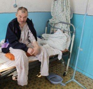43-річний Олександр Деба, втративши з власної необережності ноги, не падає духом