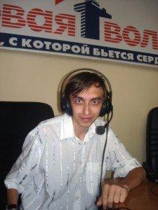 Сергій Петров, член Правління ГО «Вікімедіа Україна». фото із сторінки у соціальній мережі