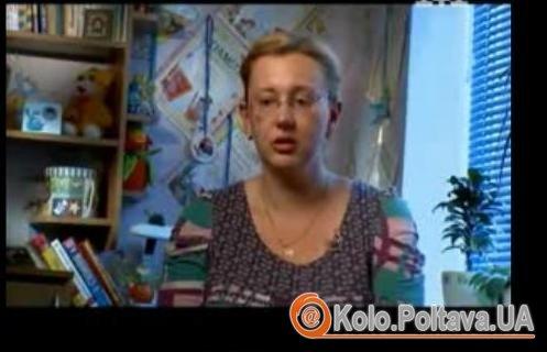 Соня розповідає про те, що привело її на проект. Фото з відео на 1plus1.ua