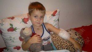 4-річний Денис Зварич хворіє на рак крові