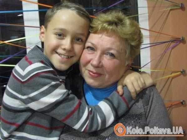 З бабусею. Фото Ніни Король