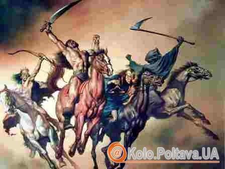 Вершники Апокаліпсису, передвісники кінця світу. Фото з apokaliptika.ru