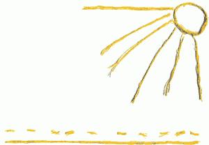 Малюнок за методикою ниткографії