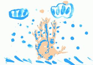 малюнок пальчиками