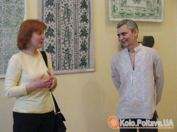 Володимир Маркар'ян та його муза, дружина Алла