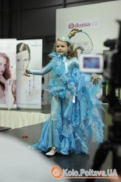 Іванна Браїлко в авангардному костюмі Русалоньки від Фуголь. Фото надане Юлією Браїлко