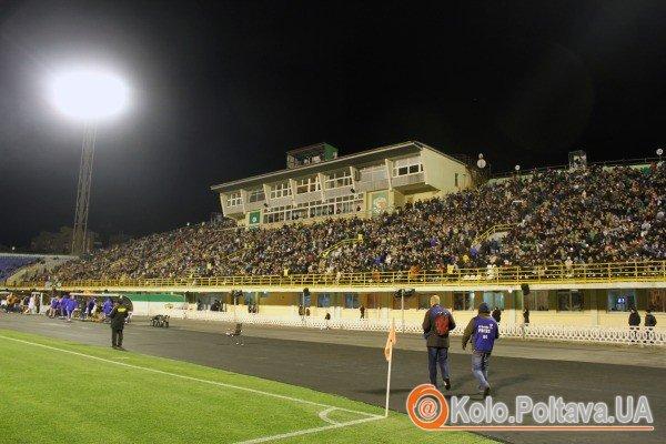 Матч відвідало 13 тисяч вболівальників (фото Олега Дубини)