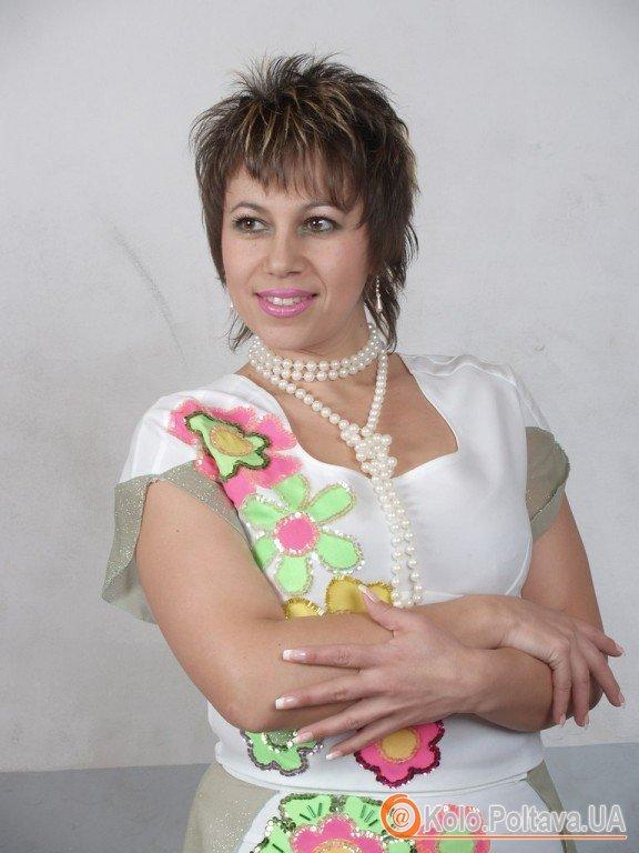 Тетяна Садохіна на сцені з 3 років