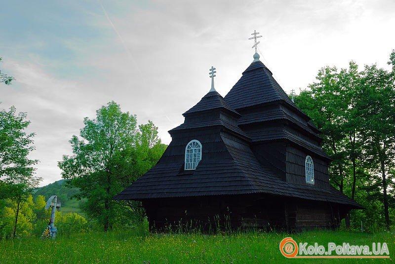 Фото Михайлівської церкви, с. Ужок. автор – Юрій Репало