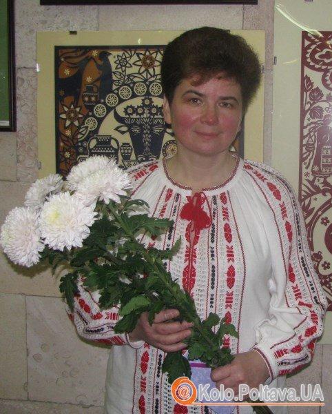 Тетяна Ваценко уже вдруге представляє свої роботи полтавцям, більшість нині – нові