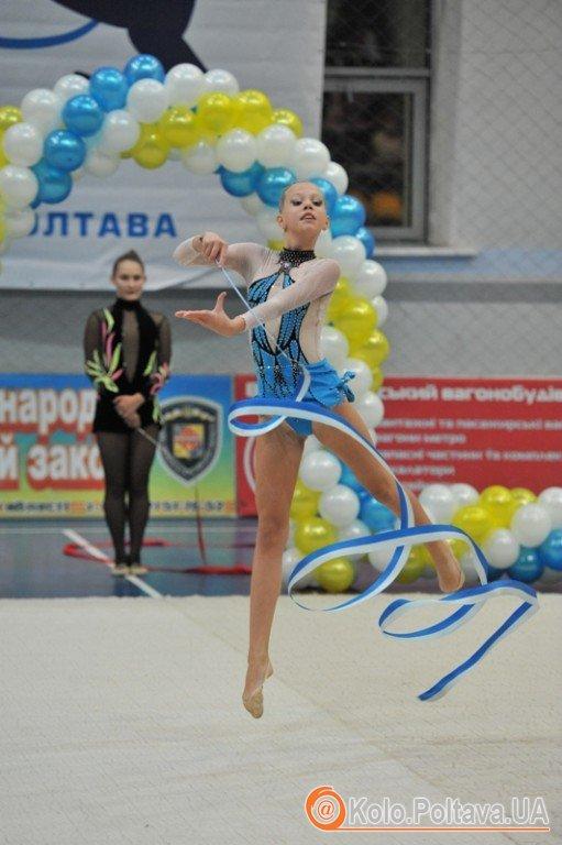 У Полтаві пройшов турнір з художньої гімнастики «Зимові дива». Фото зі сайту rada-poltava.gov.ua