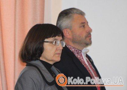 Юрій Бублик на сесії Полтавської міськради