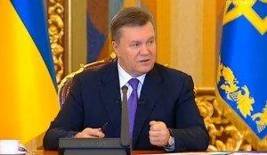 Янукович ввів кримінальну відповідальність за захоплення будівель та організацій