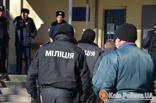 Перед засіданням. Фото надані прес-службою обласної організації ВО Свобода