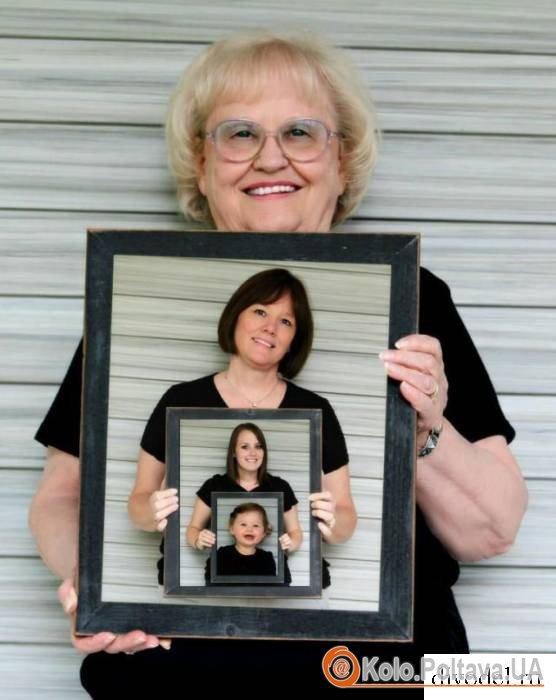 Оригінальне сімейне фото – усі покоління разом
