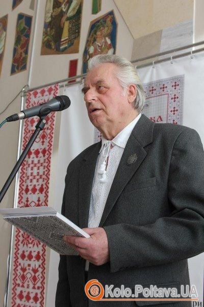 Заслужений народний майстер України Григорій Кисіль