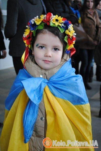 """У Полтаві відбудеться дитячий флешмоб """"Майбутнє проти війни. """"vk.com"""