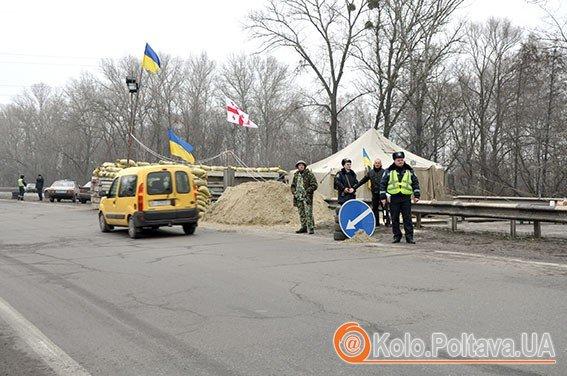 Жителі Полтави патрулюють разом з правоохоронцями. Фото з сайту mvs.gov.ua