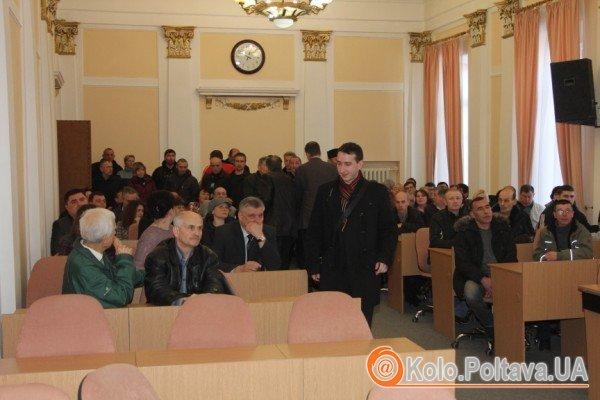 У Полтаві на анонсовану сесію міськради не прийшли більшість депутатів