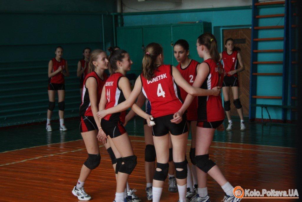 Волейбол в ДЮСША 2