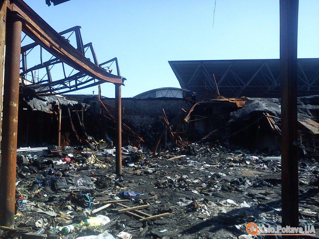 Майже рік минув, а наслідки масштабних пожеж на Центральному ринку досі не прибрали