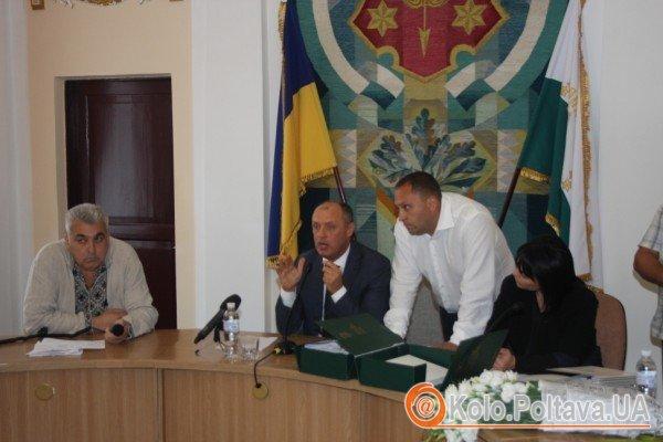 Скандал. Активісти та мер Полтави сперечались через земельні питання (відео)