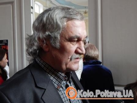 Культовий український письменник Василь Шкляр презентував у Полтаві «Марусю»