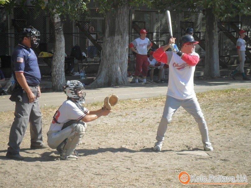 Благодійний бейсбол за участю полтавських «Кабанів»